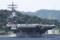 2016年6月4日横須賀を出港するロナルド・レーガンUSS Ronald Reagan CVN-76
