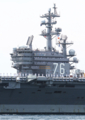 [艦船]2016年6月4日横須賀を出港するロナルド・レーガンUSS Ronald Reagan CVN-76