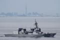 [艦船]2016年6月14日 浦賀水道航路を南航する護衛艦てるづきJS Teruzuki DD116