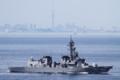 [艦船]2016年6月14日 浦賀水道航路を南航する護衛艦おおなみJS Onami DD111