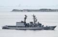 [艦船]2016年6月14日 浦賀水道航路を南航する護衛艦あまぎりJS Amagiri DD154