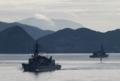 [艦船]2017年5月5日佐世保を出港するはるさめJS Harusame DD102