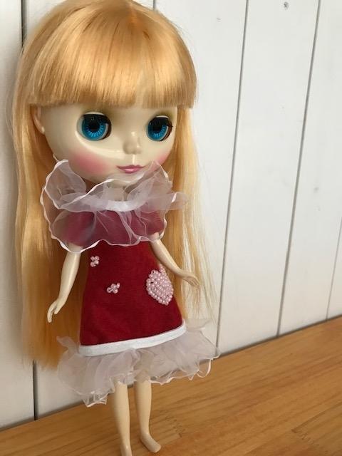 ブライスbunちゃんがコスプレ服を着てみた。