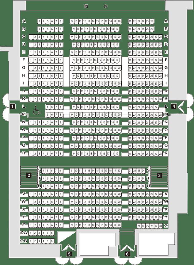 舞台におすすめの双眼鏡SAFARI SIGHTRON_感想 座席表