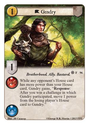 Gendry (Forgotten Fellowship, 96)