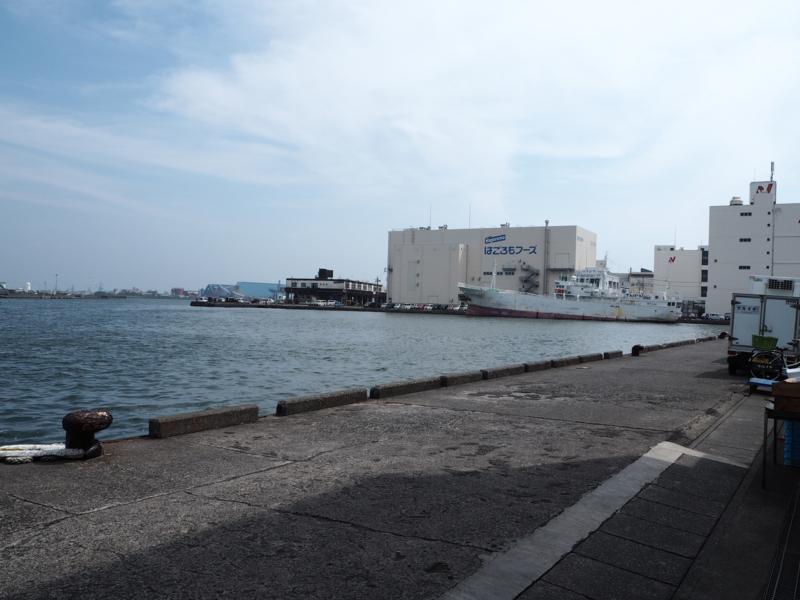 清水港の防波堤