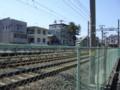 阪急千里線・関大前駅手前