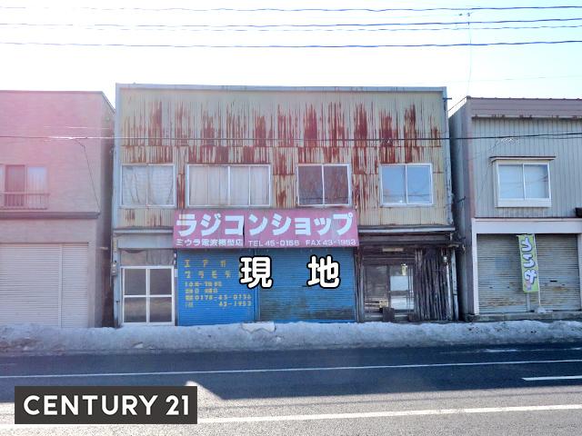 八戸市根城一丁目・住宅用売土地 現地写真