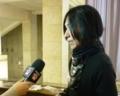 海外テレビインタビュー
