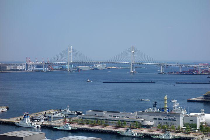 横浜港の風景