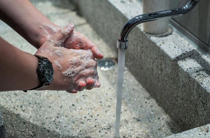 イオンゾーン手洗い
