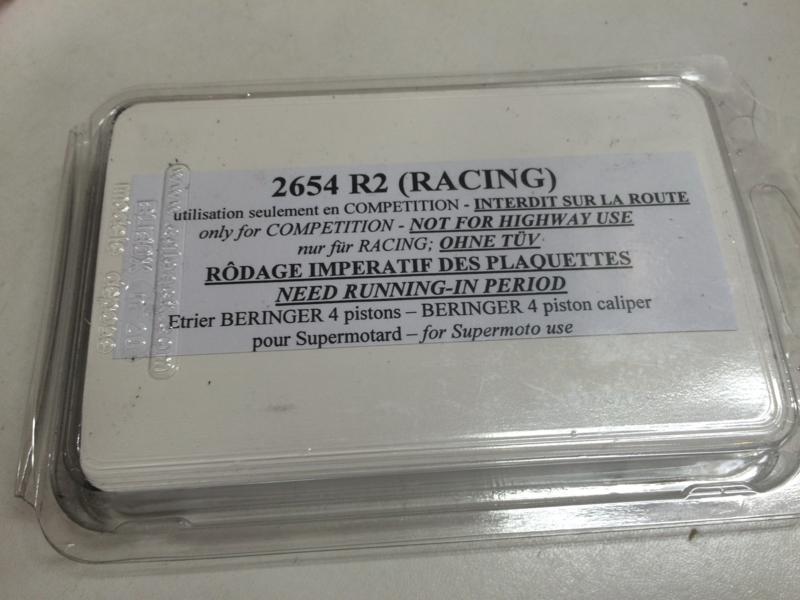 CRF250R モタード
