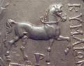 キュメーのコインの馬