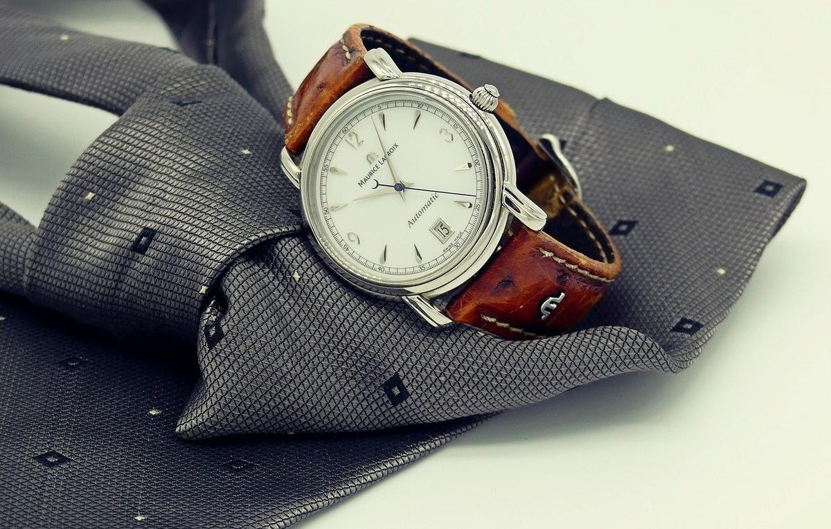 AGA・薄毛だからこそオシャレを楽しもう-腕時計