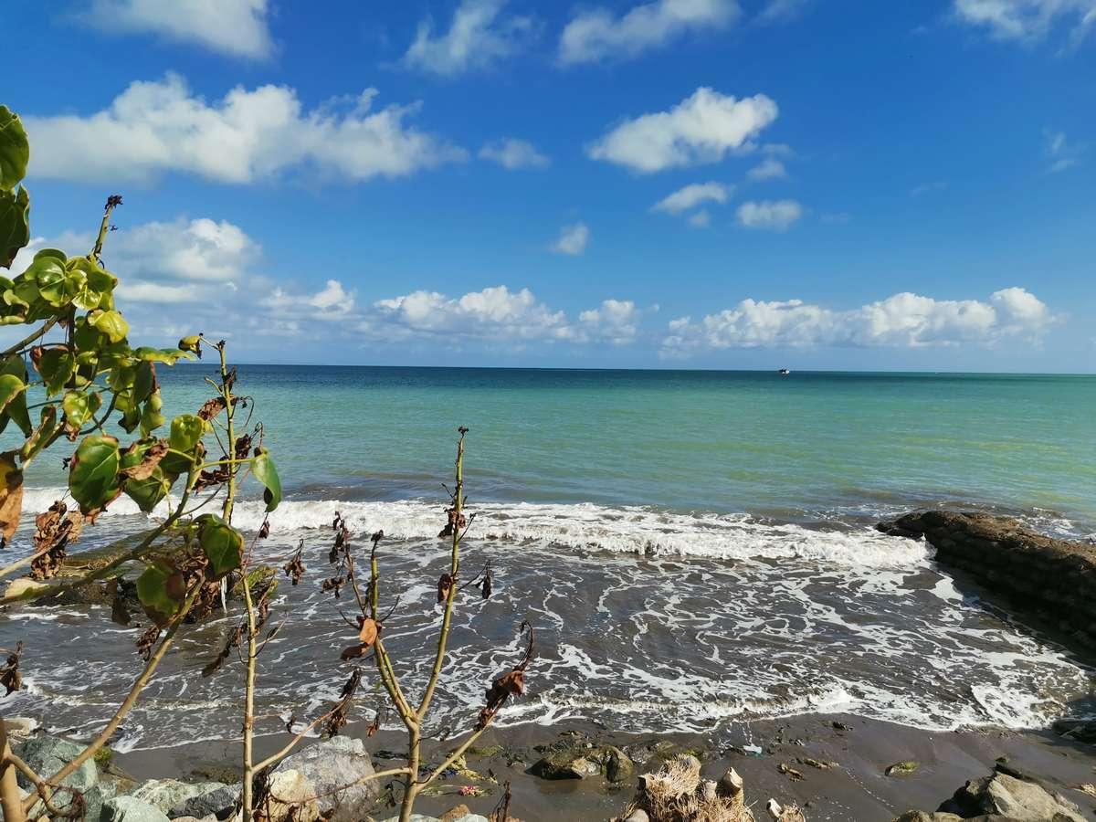 HUAWEI NOVA 5Tのカメラで撮影したカリブ海の島国の写真