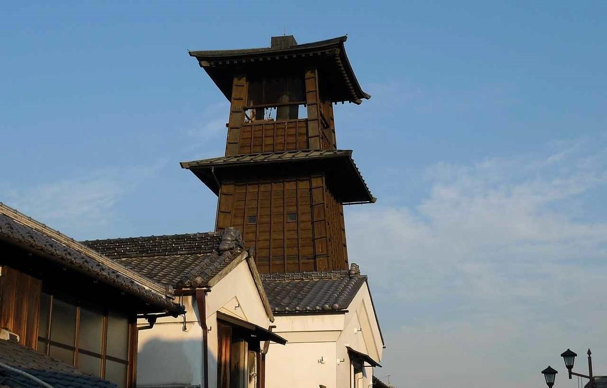 川越の時の鐘(鐘撞堂)
