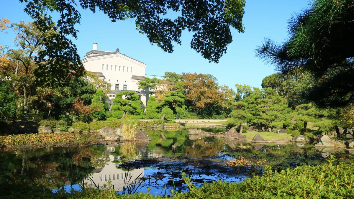 天王寺公園(大阪府)の慶沢園
