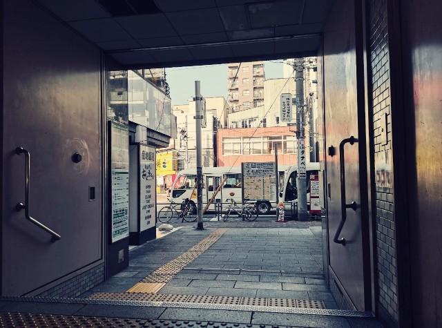 都営新宿線菊川駅A4出口