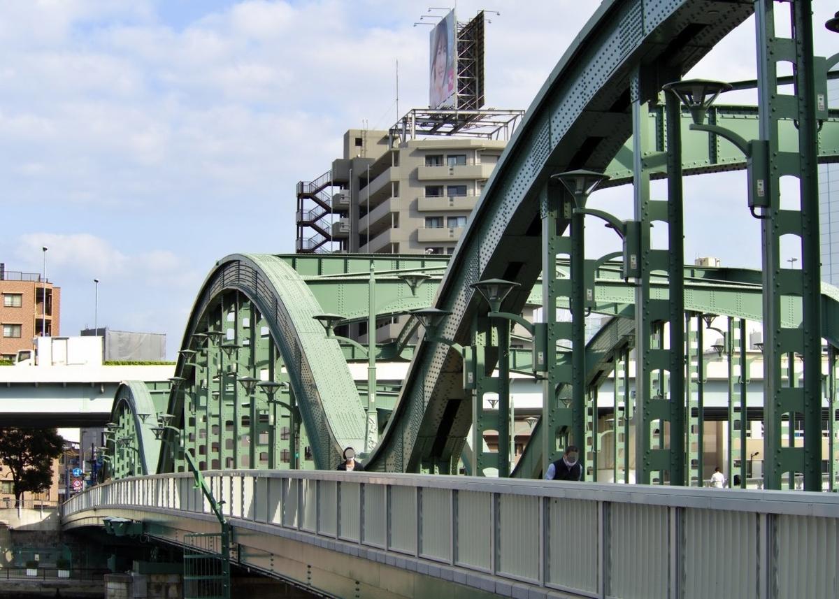 蔵前駅近くの厩橋から撮影。