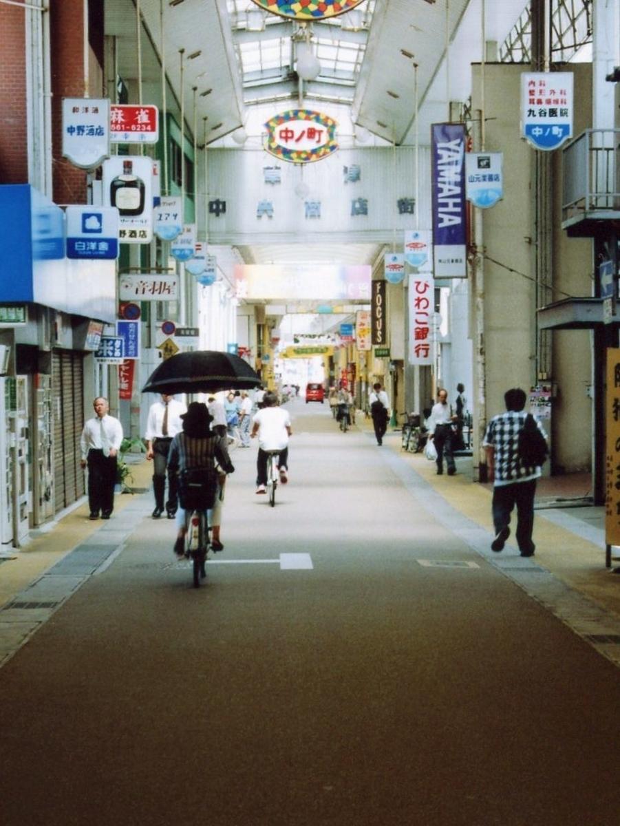 草津中央商店街