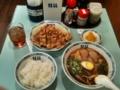 桂花ラーメン本店 五香肉(ウーシャンロー)セット 880円