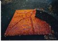 1993.10 宮沢賢治記念館 南斜花壇 タイル画「月夜のでんしんばしら」