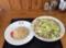 王ちゃん亭 ちゃんぽん+炒飯 800円