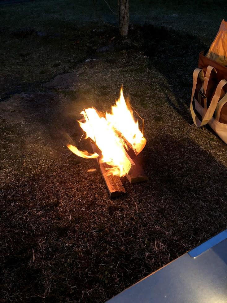 焚き火 ピコグリル398