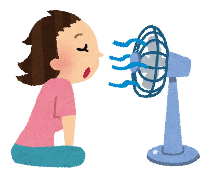 扇風機 暑さ