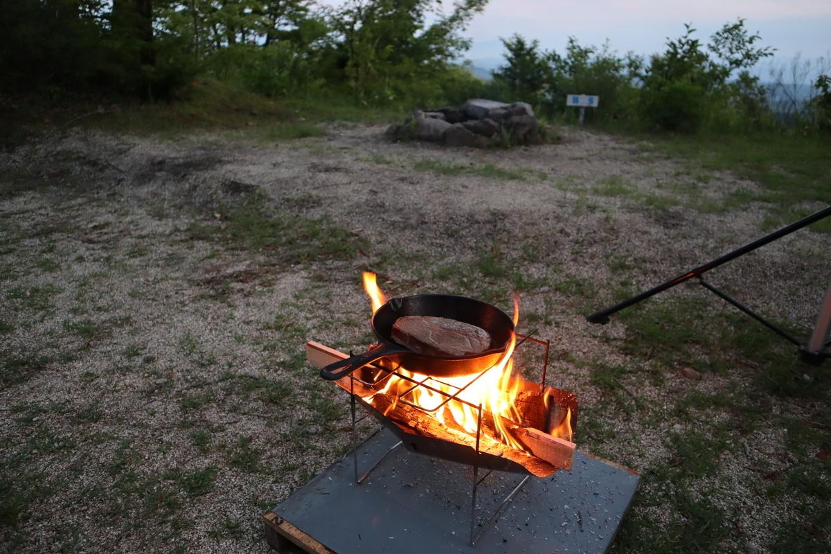 ピコグリル398 焚火料理 スキレット ロッジ