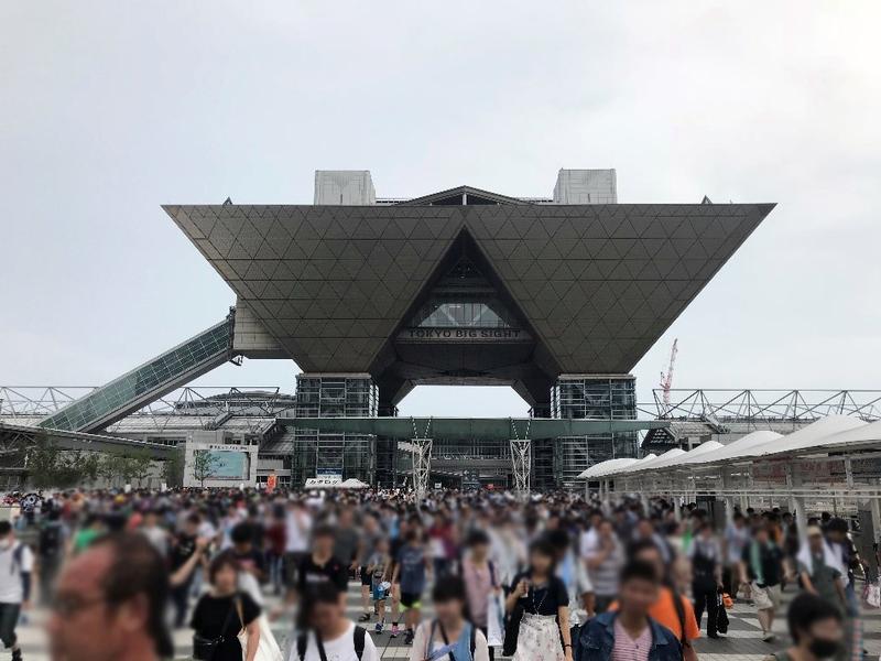 コミックマーケットが行われる東京ビッグサイト。