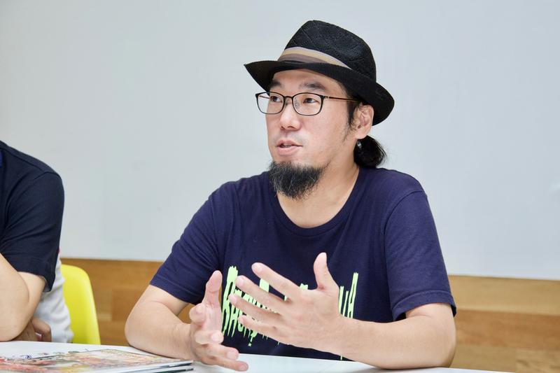 竹田氏は「作った本を直接お客さんに届けられる、というのは即売会ならでは」と語る。
