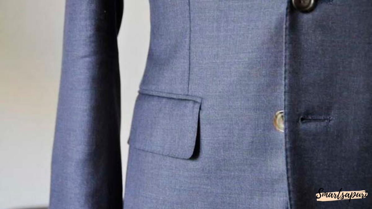 ビジネスマンのスーツを着こなすコツはポケット