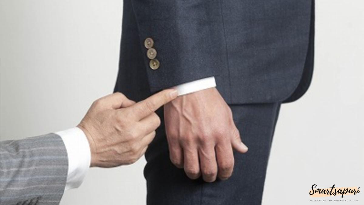 ビジネスマンのスーツを着こなすコツは袖丈