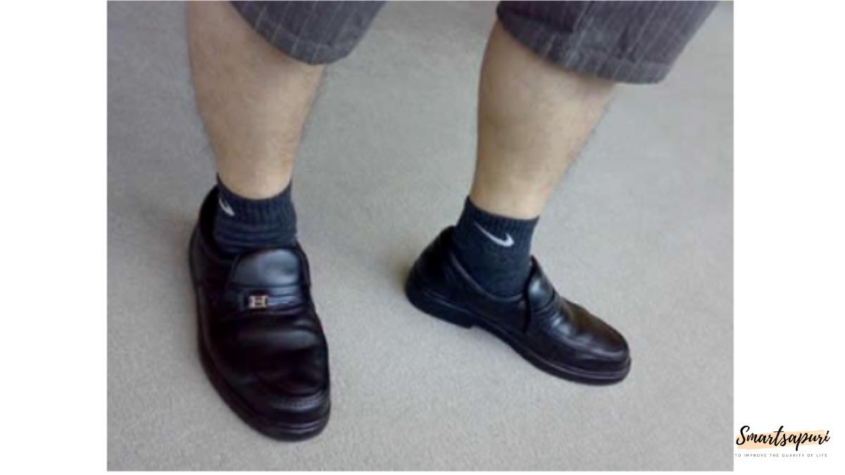 革靴の履き方がおっさん臭い