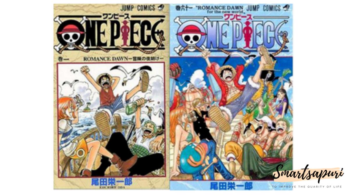 ワンピースの漫画の1巻と61巻の謎