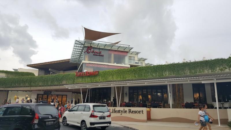 バリ島 クタのショッピングモールの入り口