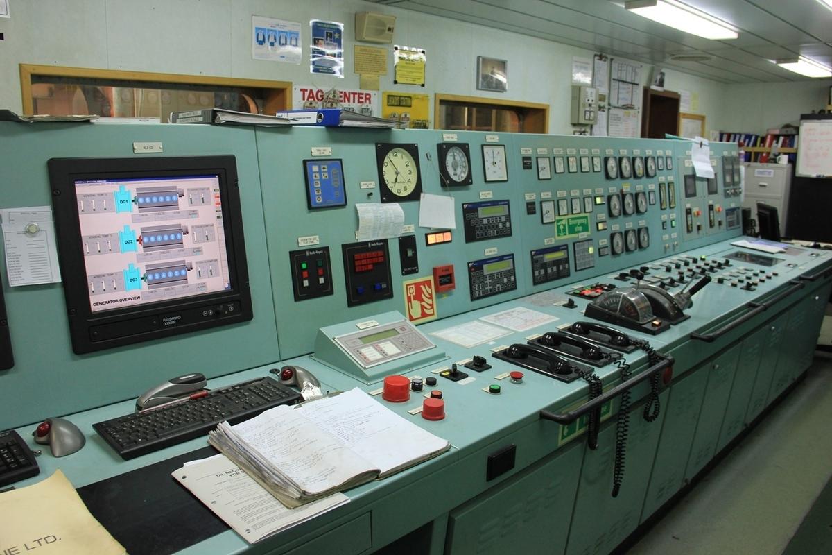 機関制御室 ECR
