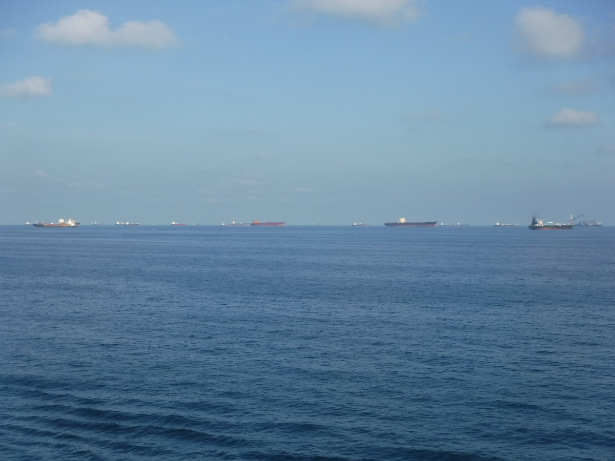 シンガポール 船