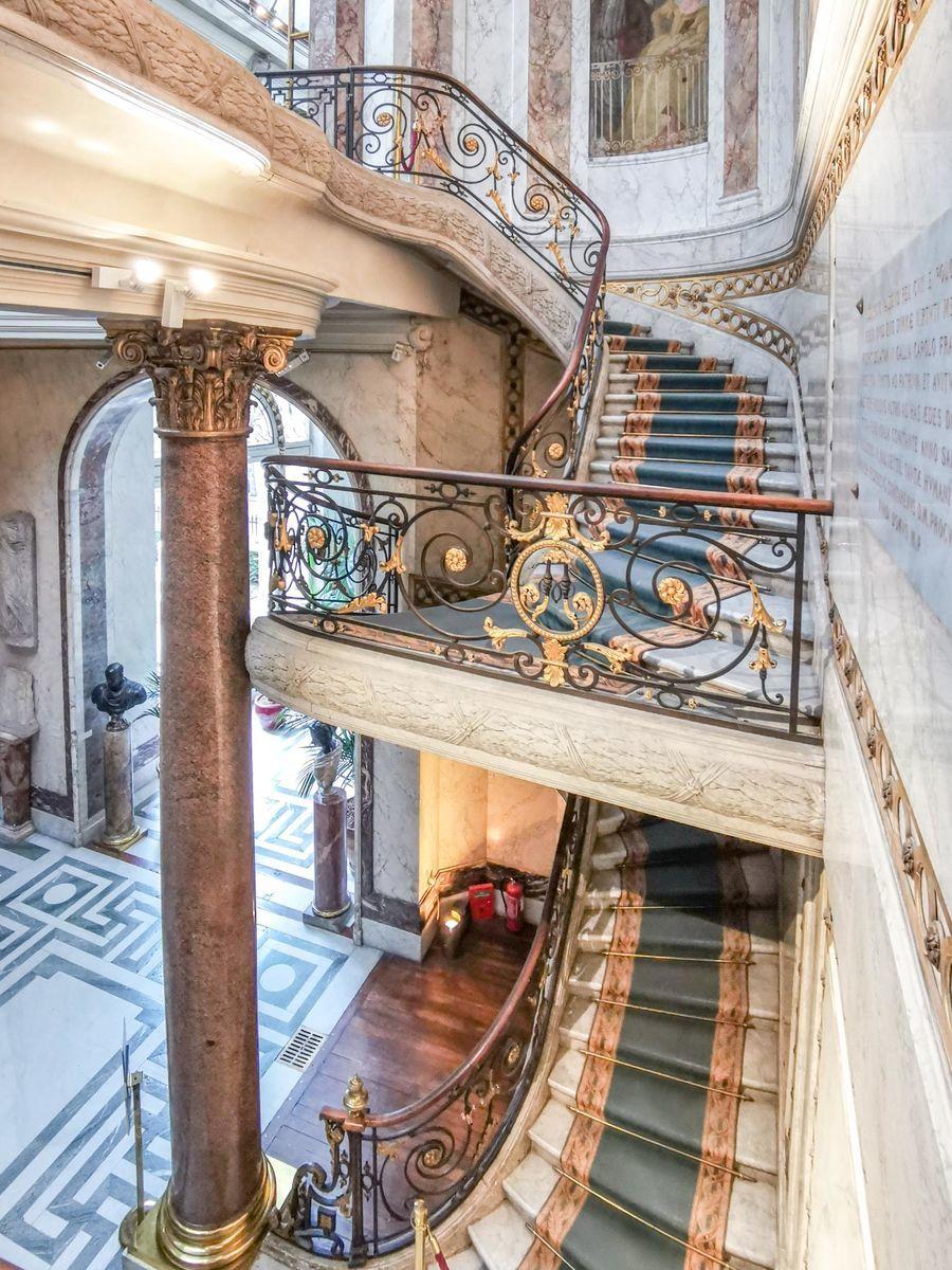 ジャックマール・アンドレ美術館 階段