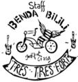 [twitter] ベンダビリリのロゴがかっちょいい!手作りハンドサイクル!