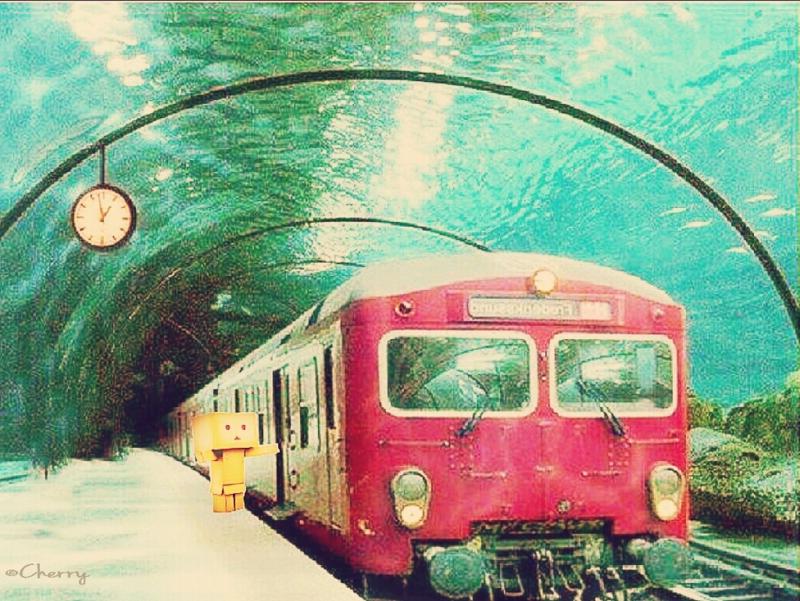 ダンボー海底トンネル出発!