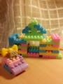 [ダンボー cherry レゴ] cherryのダンボー6歳児のレゴブロック力作