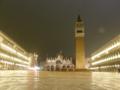 真夜中のサン・マルコ広場