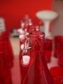 赤いボトル