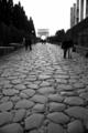 Via Sacra (ヴィア・サクラ=聖なる道)とティトゥス帝の凱旋門