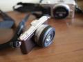 Olympus PEN E-PM1 + Panasonic lumix 20mm f1.7