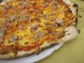 たまねぎとツナのピッツァ