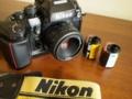 Nikon F4 + 50mm F1.8D