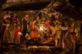 キリスト降誕再現シーンのステージ